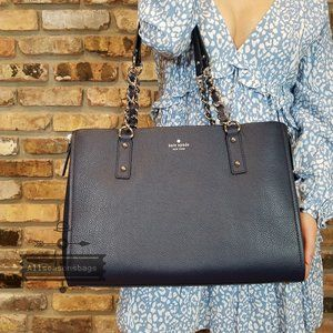 Kate Spade Cobble Hill Andee Tote Nightcap Blue